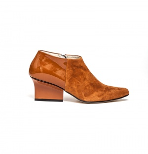 Chris ankle boots caramel