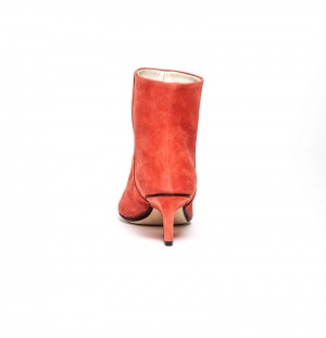 Denis ankle boots raspberry