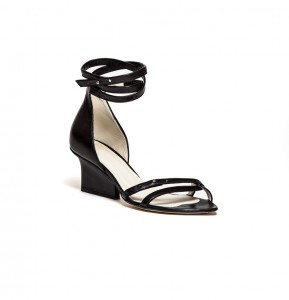 Sid strappy sandals black