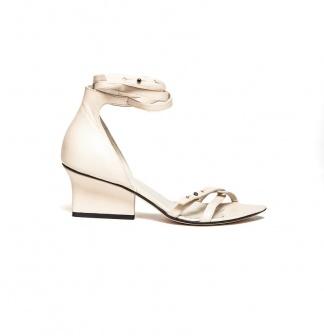 Sid strappy sandals cream