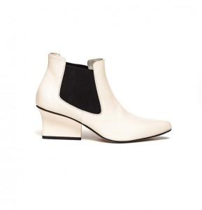 Nena chelsea boots cream