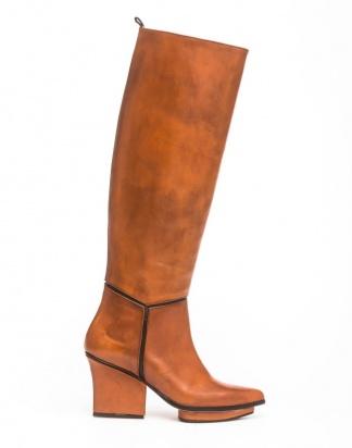 Mira knee high boots camel
