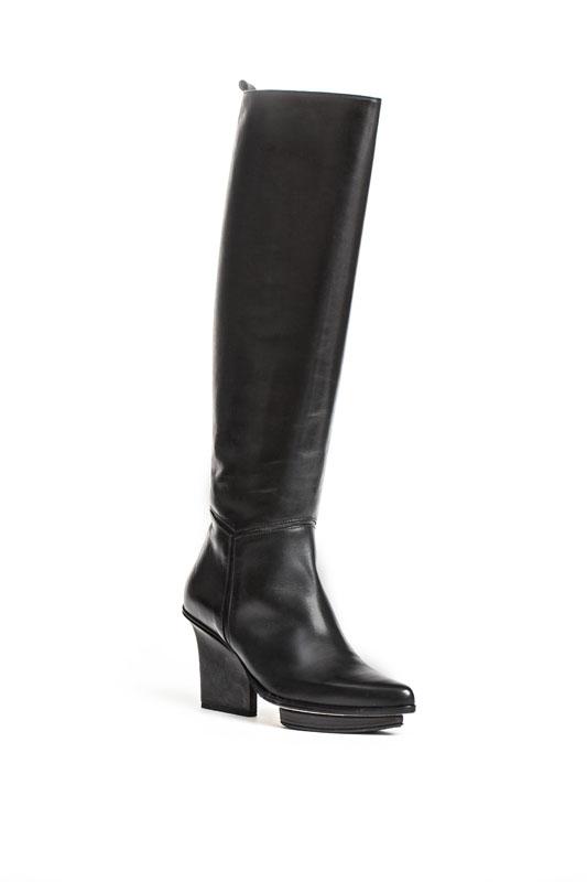 Mira knee high boots black
