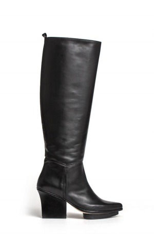Mira knee high boots black