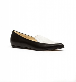 Molly loafers black cream