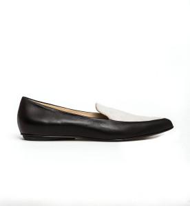 Molly loafers black cream