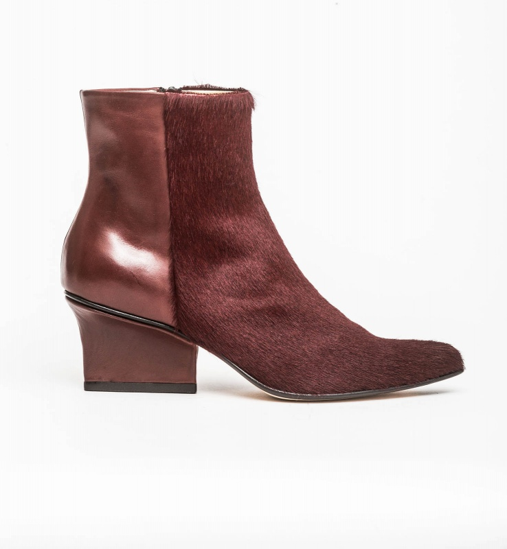 Ryan ankle boots bordeaux