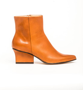 Ryan ankle boots dark camel