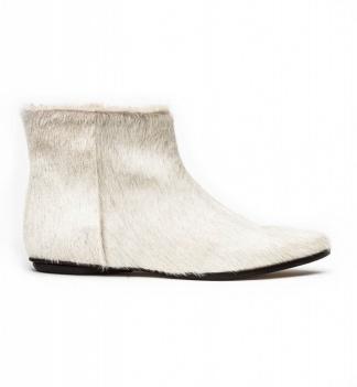 Zedd ankle boots cream