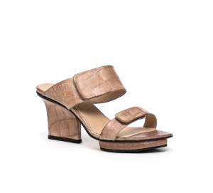 Lucy sandals nude croco