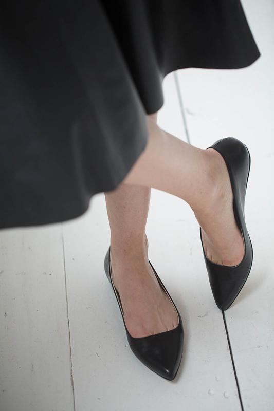 Mimi flats black