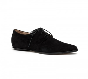 Renee derby shoes black nabuk