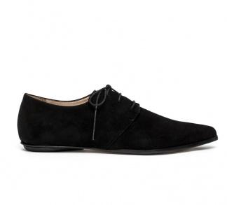 Renee derby shoes black nabuk