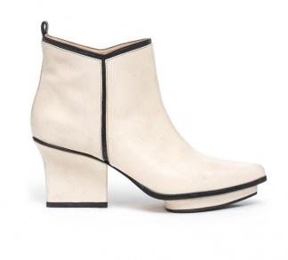 Glenn ankle boots cream
