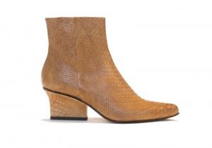 Ryan ankle boots desert python