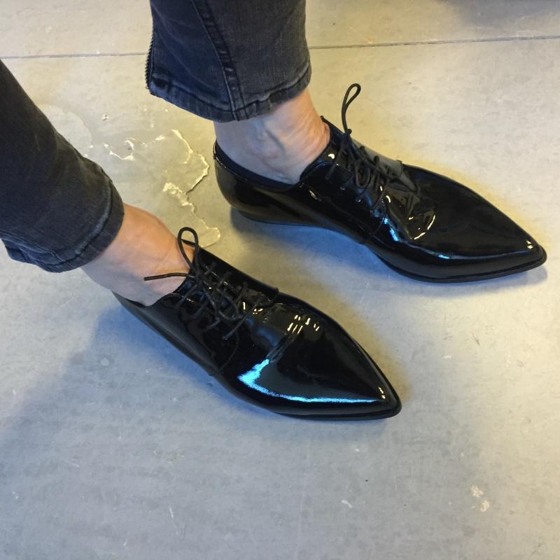 Renee derby shoes black