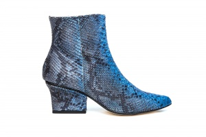 Ryan ankle boots ocean python