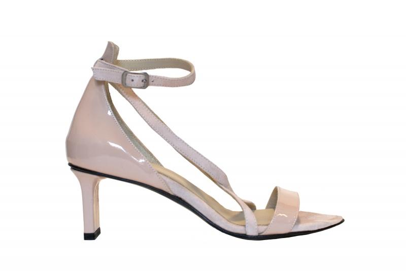 Maggie strappy sandals blush