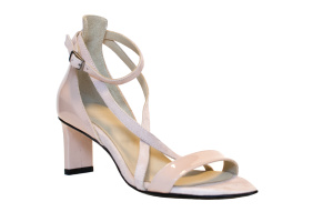 Maggie strappy sandals blush