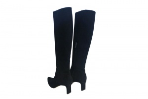 Charly high boots black suede