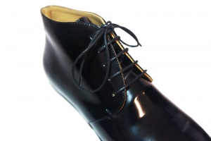 Merle derby shoes black