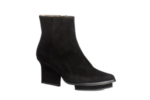 Roger ankle boots black suede