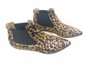 Niki chelsea boots leopard