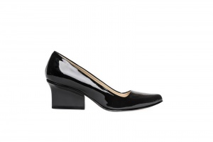 Jo pumps black patent