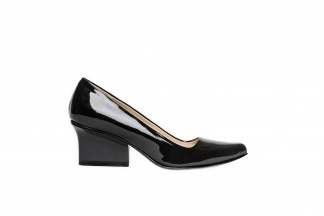 EIJK Jo pumps black patent leather side