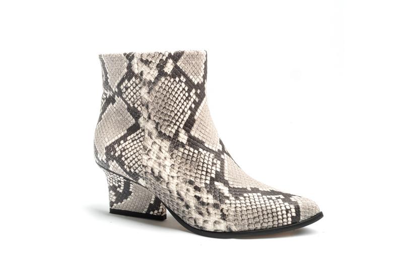 Denis ankle boots smog python angle