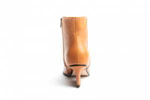 Ryan ankle boots camel back view