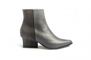 Ryan ankle boots grey side view