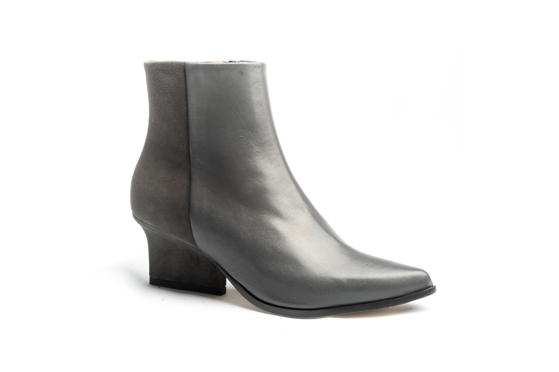 Ryan ankle boots grey angle view