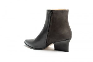 Ryan ankle boots grey angle back view
