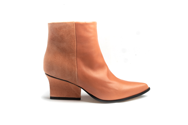 Denis ankle boots Blush